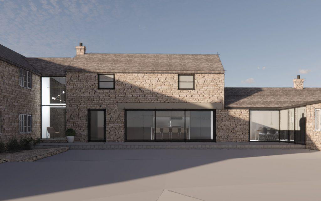 barn conversion architect derbyshire