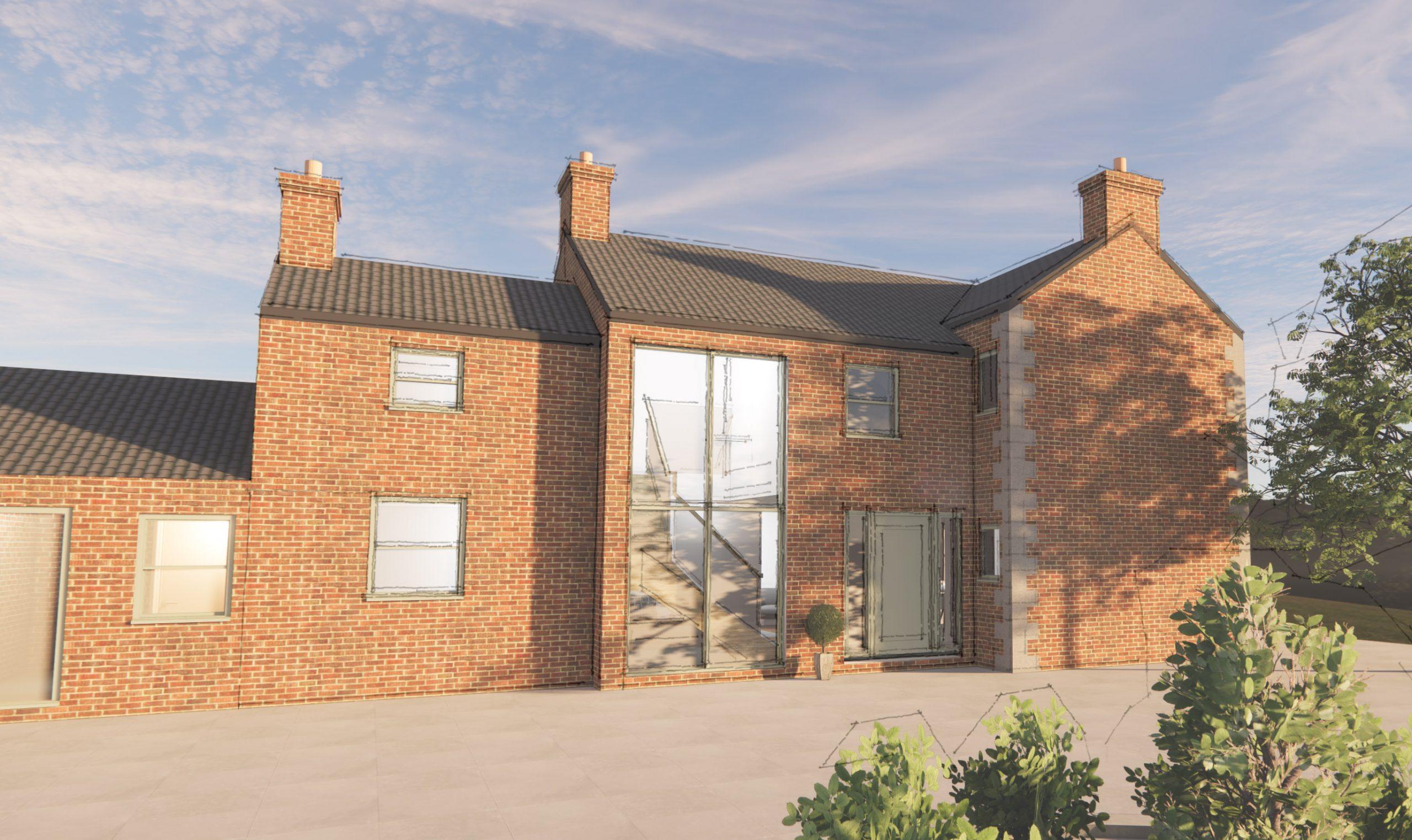 Farmhouse remodel, barn remodel, derbyshire architect