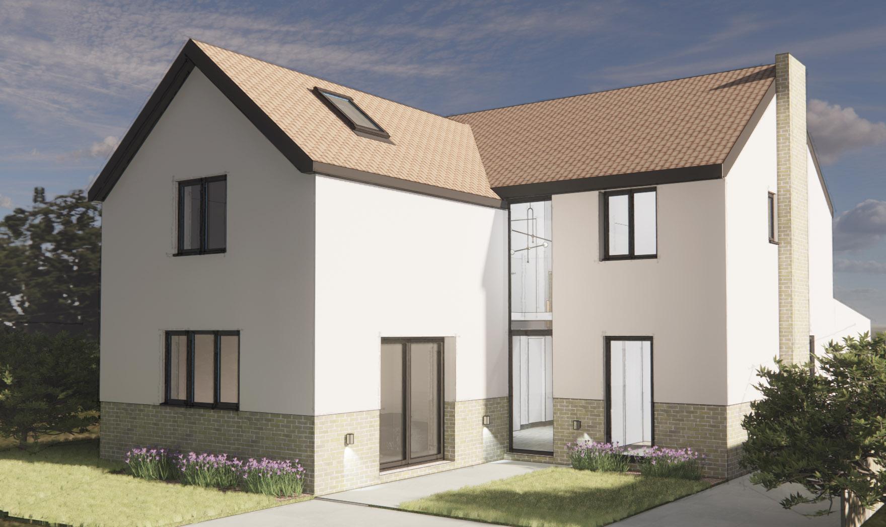 Bungalow extension architect Derbyshire